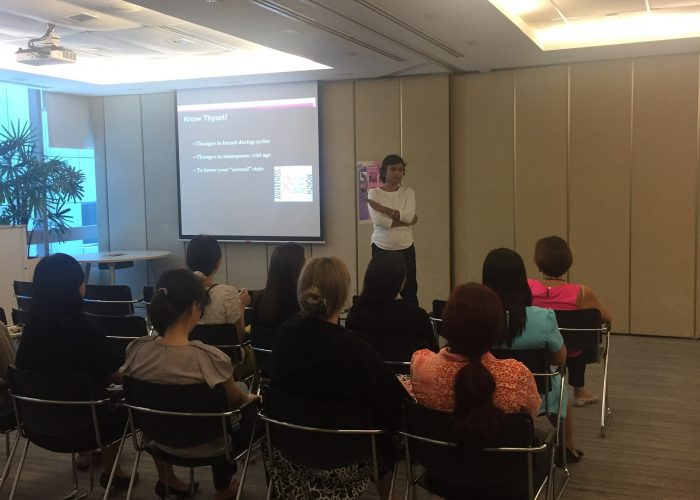 Read more about the article Breast Cancer Awareness Talk,17 October 2016